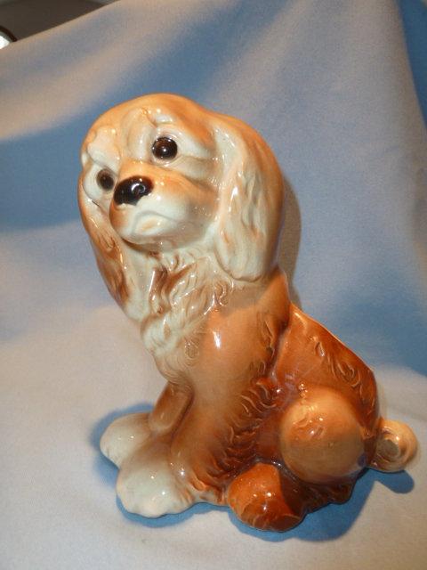 ROYAL COPLEY COCKER SPANIEL DOG PLANTER