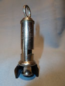 VINTAGE ENGLISH POLICE CONSTABLE'S WHISTLE BIRMINGHAM