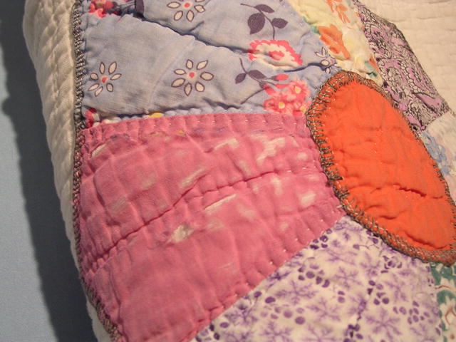 OLD FLOWER GARDEN COTTON QUILT
