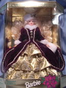 1996  SPECIAL EDITION HAPPY HOLIDAYS BARBIE NRFB