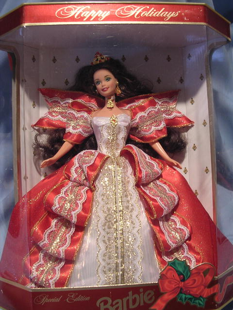 1997  SPECIAL EDITION HAPPY HOLIDAYS BARBIE  CHRISTMAS DOLL NRFB