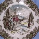 JOHNSON BROTHERS FRIENDLY VILLAGE 10 INCH DINNER PLATE