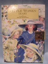 Vintage Little Women Illustrated Diary Daily Planner Perpetual HB