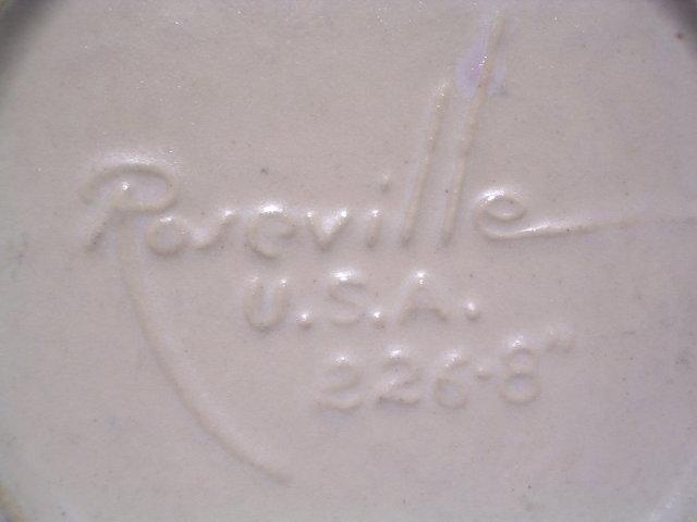 ROSEVILLE PRIMEROSE  226-8 HANDLED BOWL