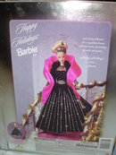 BARBIE HAPPY HOLIDAYS 1998 DOLL MINT IN BOX