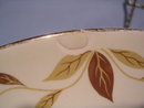 HALL  JEWEL TEA AUTUMN LEAF 10 1/8
