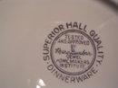 HALL  JEWEL TEA AUTUMN LEAF DESERT PLATE 7 1/4 INC