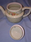 ENTERPRISE ALUMINUM DRIP-O-LATOR POTTERY TEA COFFEE POT