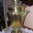 BEAUTIFUL ANTIQUE  RUSSIAN WINE GLASS SAMOVAR