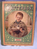 1908  CHATTERBOX  HARD BACK BOOK BY  J. ERSKINE CLARKE