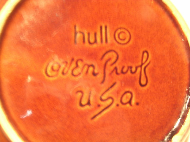 HULL HOUSE AND GARDEN MIRROR BROWN BAKE AND SERVE DISH