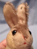 STEIFF JOINTED NECK STUFFED RABBIT