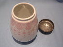 ANTIQUE CHINA  PINK DECORATED SUGAR SHAKER  MUFFINEER AUSTRIA