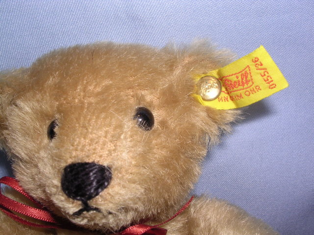 STIEFF MARGARET STRONG GOLD MOHAIR  TEDDY BEAR #0155/26