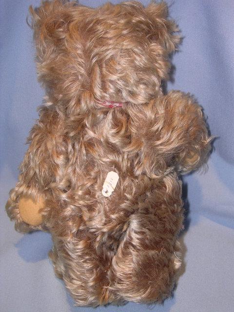 STEIFF ZOTTY MOHAIR 10 TEDDY BEAR W/ EAR BUTTON