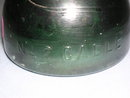 No 2 CABLE GREEN GLASS INSULATOR