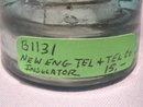 NEW ENGLAND TELEPHONE AND TELEGRAPH THREADED INSULATOR