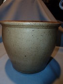 OLD SALT GLAZE GRAY GREY CROCK