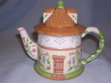 LENOX CHINA  ENGLISH GARDEN COLLECTION DOVECOTE TEAPOT TEA POT