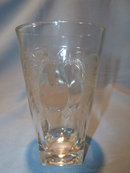 JEANNETTE CHINA CRYSTAL BALTIMORE PEAR TUMBLER