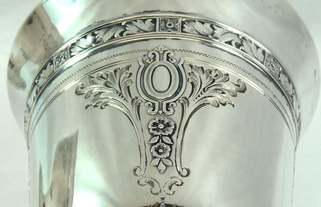 GORHAM Sterling CINDERELLA Gold Lined Goblet