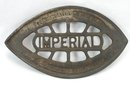 Antique Consolidated IMPERIAL Sad Iron Gas Iron Trivet