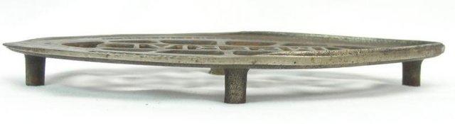 Antique Consolidated IMPERIAL Sad Iron Gas Iron Trivet