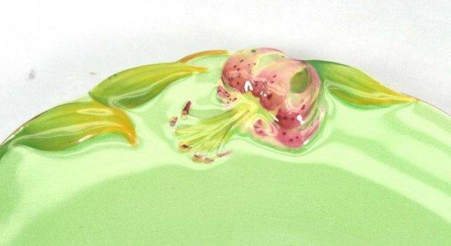 ROYAL WINTON Green Tiger Lily Dish