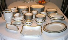 Service 8+ Rosenthal WINIFRED China Set  +8 Serving Pc