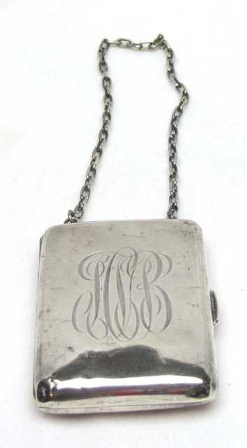 Victorian Sterling Coin plus Purse  R