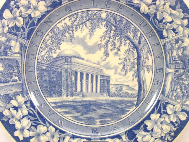 WASHINGTON & LEE WEDGWOOD Plate CARNEGIE