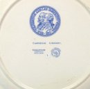 WASHINGTON & LEE WEDGWOOD Plate CARNEGIE