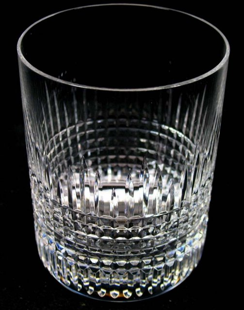 Set 8 Cut BACCARAT Flared Old Fashioned Glasses