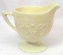 Indiana Custard FLOWER AND LEAF BAND Cov Sugar & Cream
