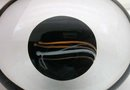 KOSTA BODA Art Glass Paperweight Artist Signed VALLIEN