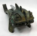 Old Bronze Butane DRAGON Cigarette Lighter made Germany