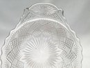 6 PORTLAND EAPG Handled Sauce Dish DIAMOND and SUNBURST