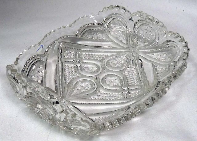 HEISEY #1205 FANCY LOOP Bonbon Candy Dish 1896-1903