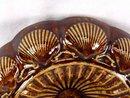 BENNINGTON ROCKINGHAM Tortoise Shell Spittoon Cuspidor