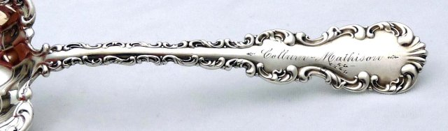 Whiting Sterling Silver LOUIS XV Berry Casserole Spoon