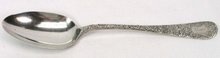 Whiting Sterling ANTIQUE CHASED 1882 Serving Spoon