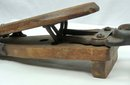 Antique Mechanical Wood & Cast Iron BOOT JACK Pat. 1859