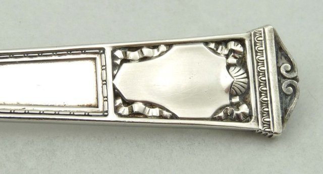 2 TIFFANY Sterling Silver SAN LORENZO Gumbo Spoon 1916