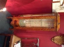 Italian Bow Front Small Display Cabinet