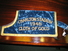 GREYHOUND  RACE - CHARLTON STADIUM CLOTH OF