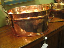 COPPER  DUTCH OVEN  COVERED PAN