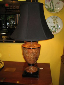 SIGNED URN TABLE LAMP