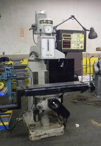 3 AXIS CNC SUPERMAX MILLING MACHINE