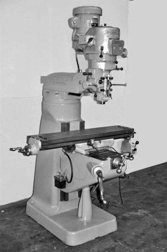 BRIDGEPORT MILLING MACHINE 1-1/2 HP
