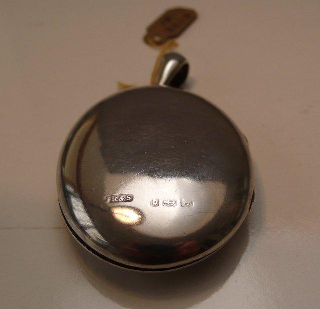 Victorian sterling locket